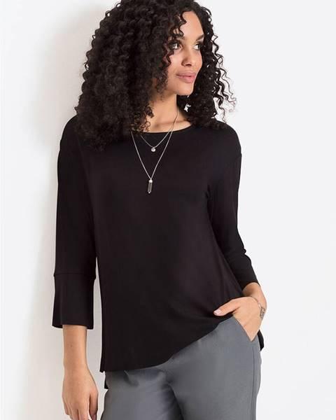 Čierne tričko bonprix
