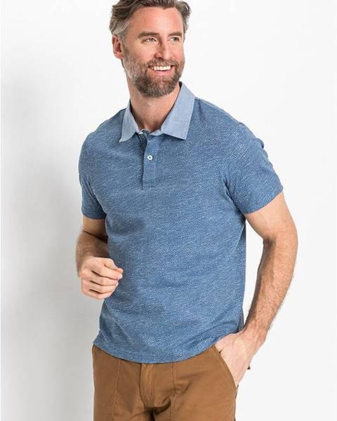 Modré tričko bonprix