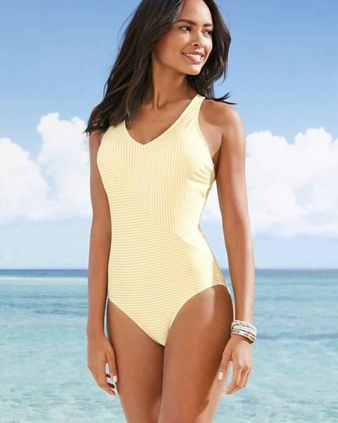 Žlté plavky bonprix