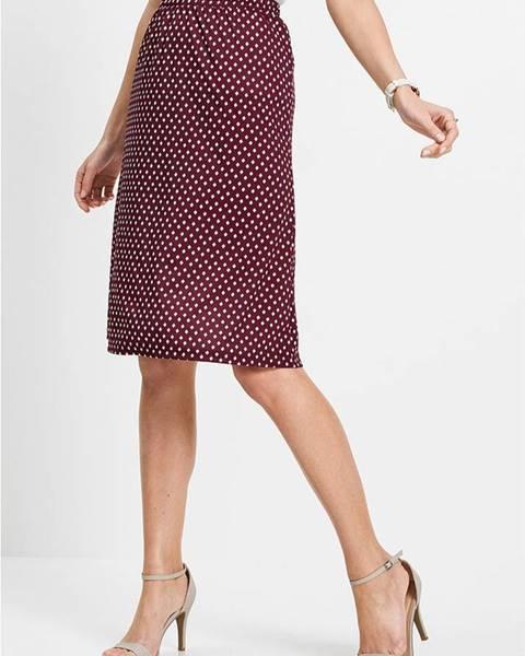 Fialová sukňa bonprix