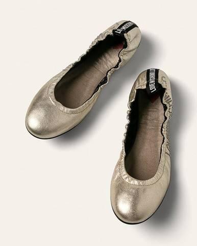 Zlaté balerínky Love Moschino