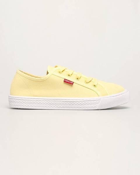 Žlté tenisky Levi's
