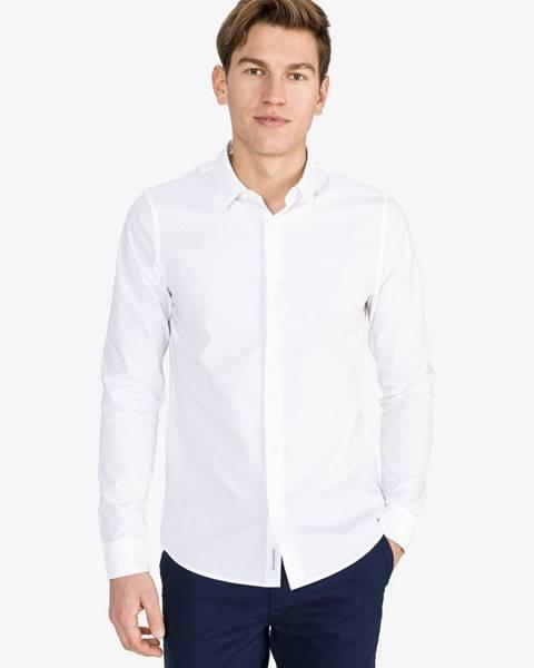 Biela košeľa Calvin Klein