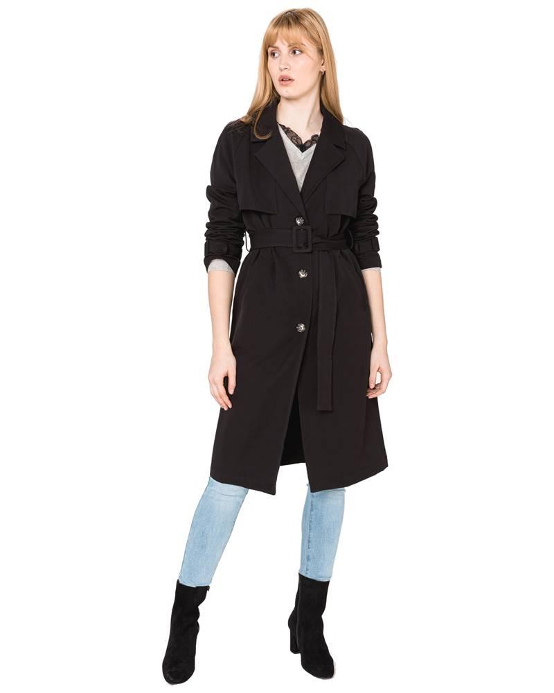 Vero Moda Vero Moda Donnaexport Kabát Čierna