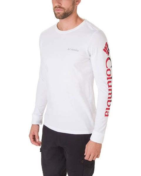 Biele tričko Columbia