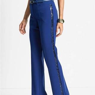 Strečové nohavice s flitrami