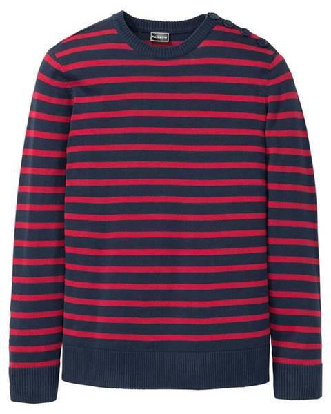 Modrý sveter bonprix