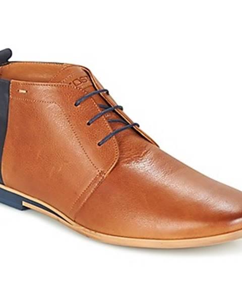 Hnedé topánky Kost