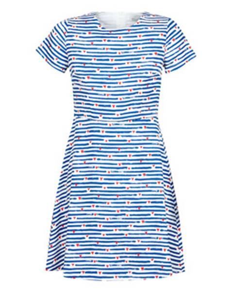 Modré minišaty Molly Bracken