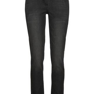 Strečové džínsy s čipkou