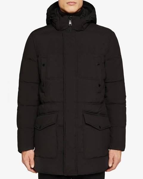 Čierna bunda Geox
