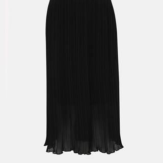 Čierna plisovaná sukňa ZOOT Marghareta