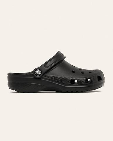 Čierne sandále Crocs