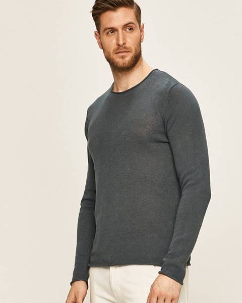 Tmavomodrý sveter Premium by Jack&Jones