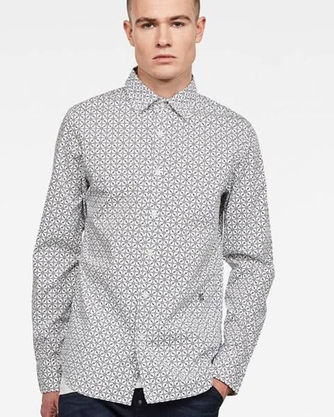 Biela košeľa G-Star Raw