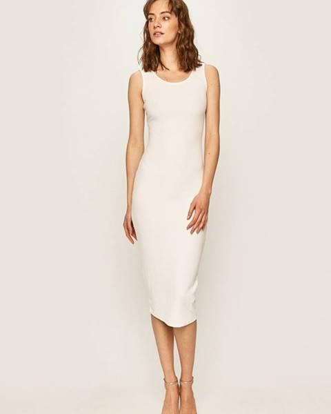 Biele šaty Guess Jeans