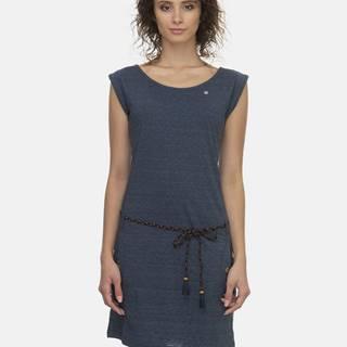 Tmavomodré šaty Ragwear Tag