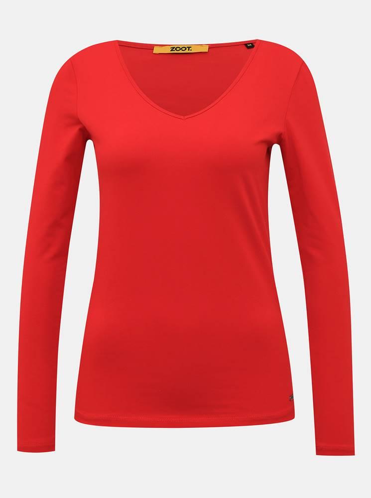 zoot baseline Červené dámske basic tričko ZOOT Baseline Tamara