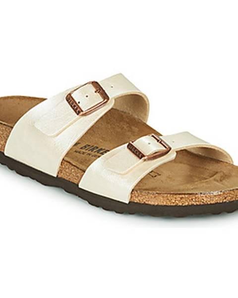 Béžové sandále Birkenstock