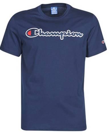 Modré tričko Champion