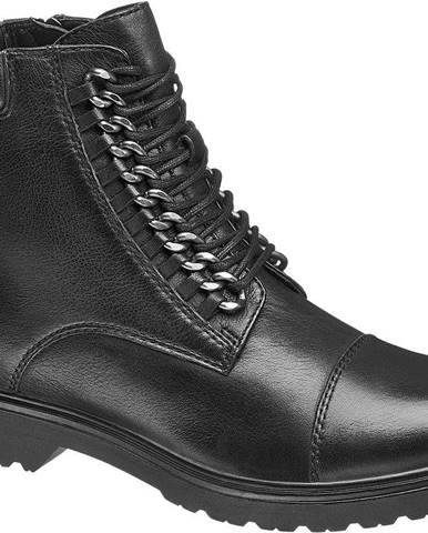 Čierne zimná obuv 5th Avenue