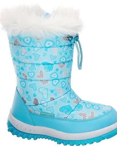 Modré zimná obuv Cortina