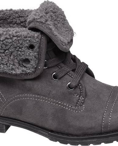 Sivé členková obuv Landrover