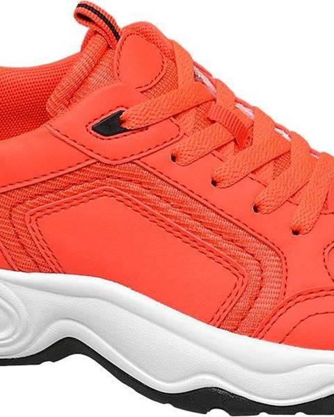 Oranžové tenisky Venice