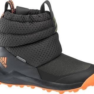 adidas - Čierne snehule Adidas Rapida Snow C
