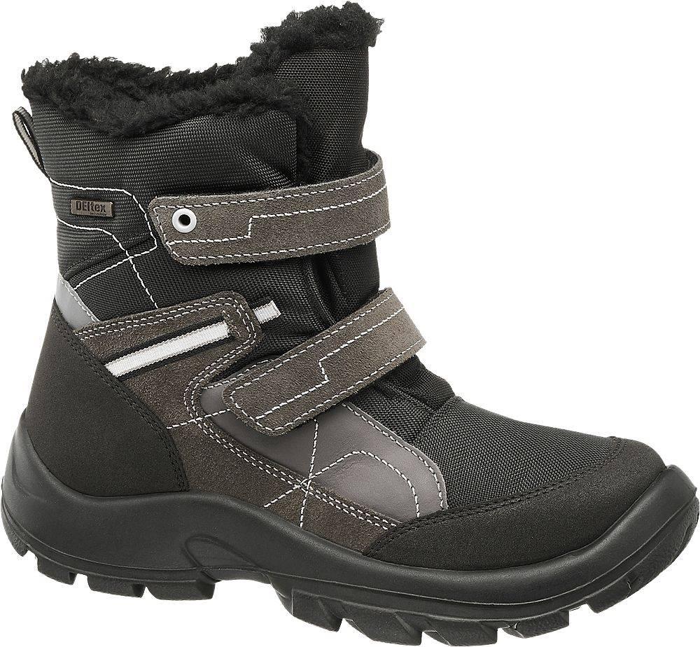 Cortina Cortina - Čierno-sivá zimná obuv s TEX membránou Cortina