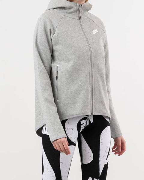 Sivá mikina Nike
