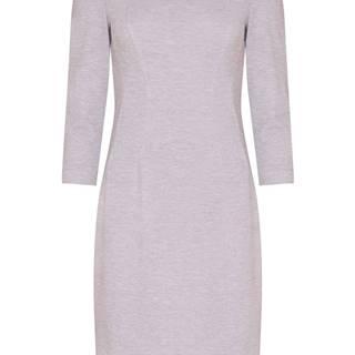 Dámske puzdrové šaty  sivá
