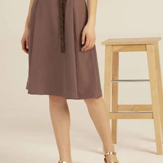 Dámska sukňa s ripsovou stuhou