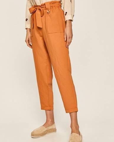 Oranžové nohavice Answear