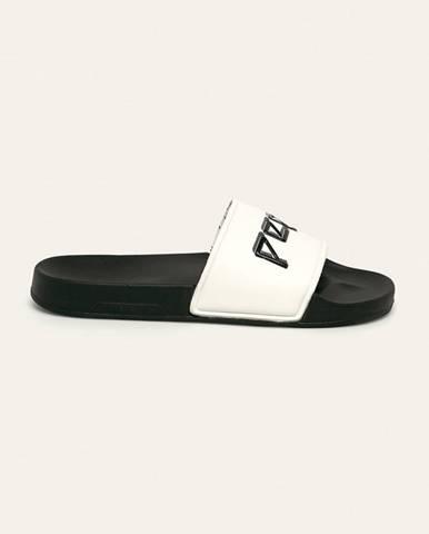 Biele sandále Pepe jeans