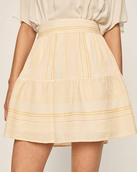 Biela sukňa Vero Moda