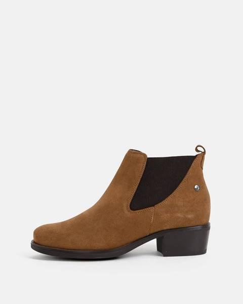 Hnedé topánky OJJU