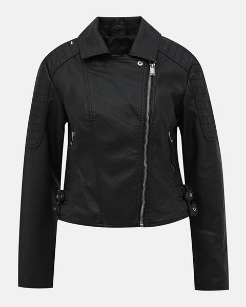 Čierna bunda TALLY WEiJL