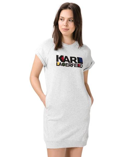Karl Lagerfeld  Karl Lagerfeld Šaty Šedá