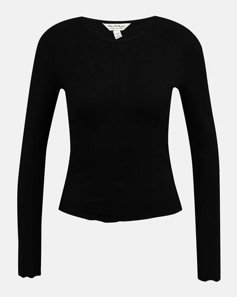 Čierne tričko Miss Selfridge