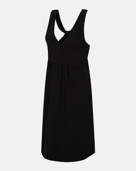 Čierne šaty hannah
