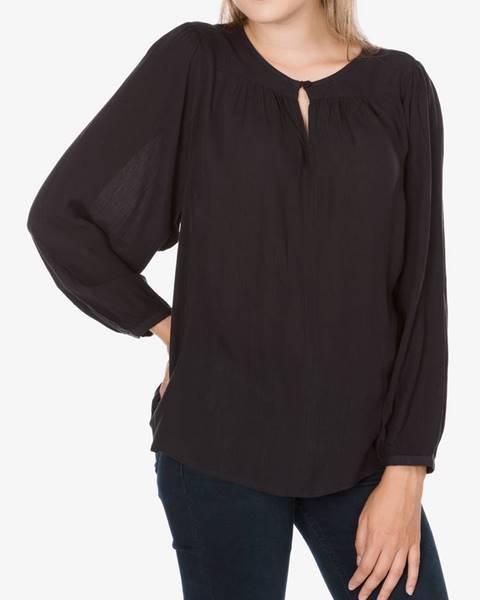 Čierna košeľa s dlhým rukávom LEVI'S