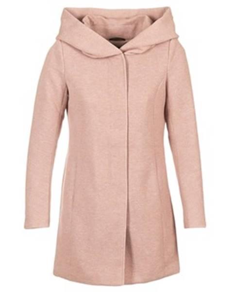 Ružový kabát Only