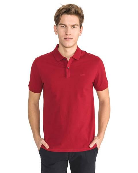 Červené tričko BOSS