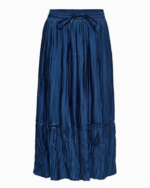 Tmavomodrá sukňa Only