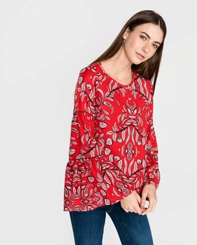 Červená blúzka Vero Moda