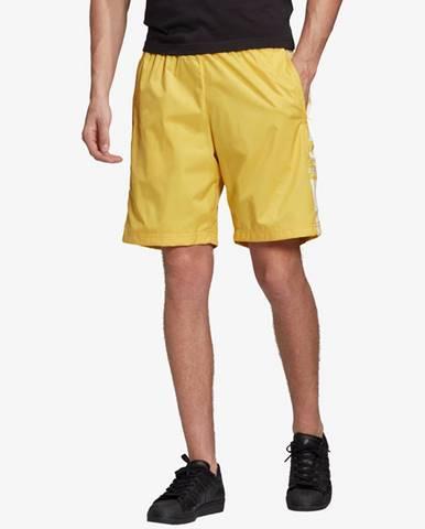 Žlté kraťasy adidas Originals
