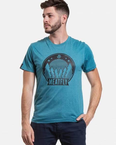 Modré tričko Meatfly