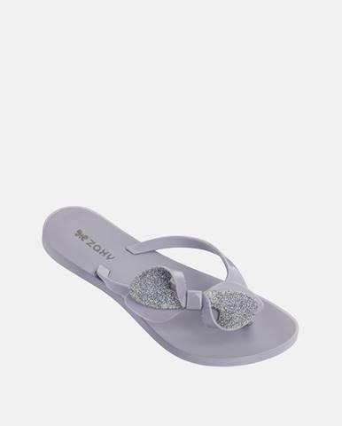 Fialové papuče Zaxy