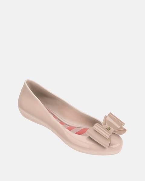 Zaxy  Ružové baleríny s mašľou Zaxy